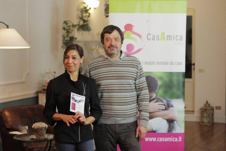 Chef in love per CasAmica!