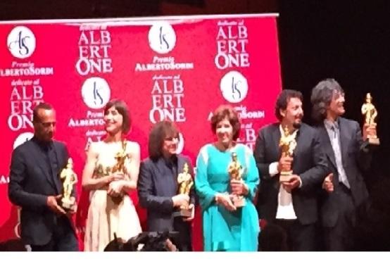 Premio Alberto Sordi a Lucia Vedani
