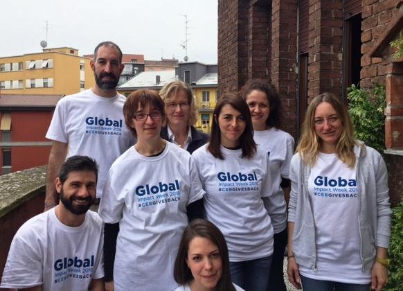 CEB Global a CasAmica: volontari per un giorno