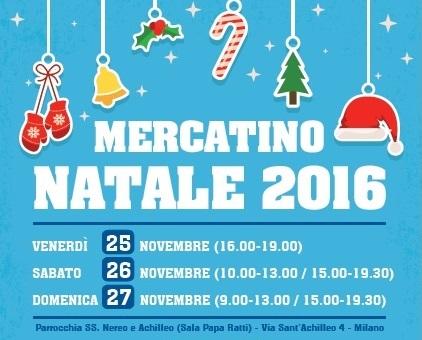 Non c'è due senza tre: Mercatino di Natale 2016