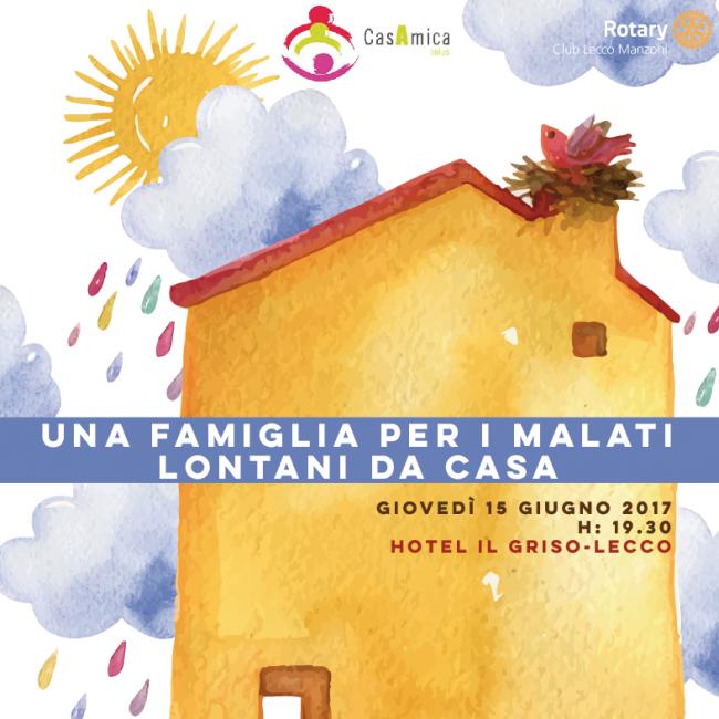 Rotary Club Lecco Manzoni a favore di CasAmica