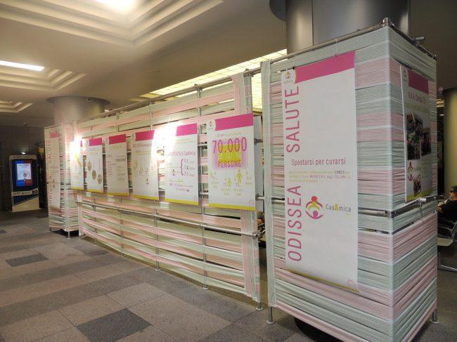 Inaugurata all'Ospedale Manzoni di Lecco una mostra su CasAmica